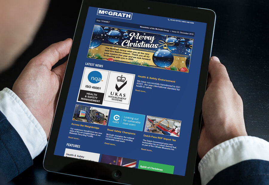 McGrath Group enewsletter