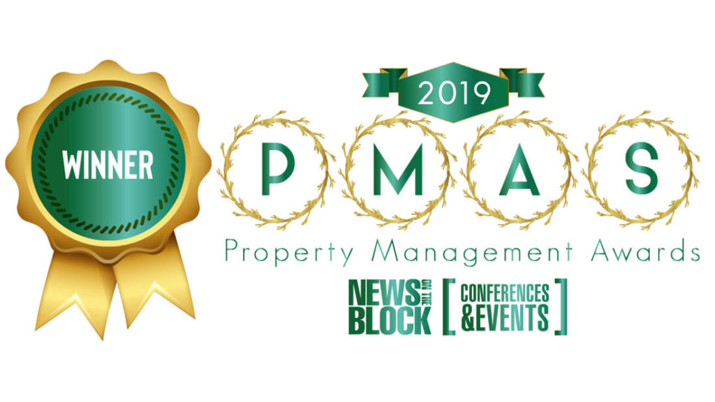 A Winner for Property Management Awards 2019