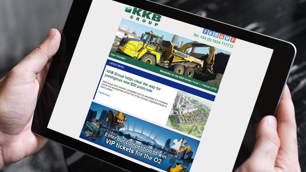 KKB reaches out with new newsletter