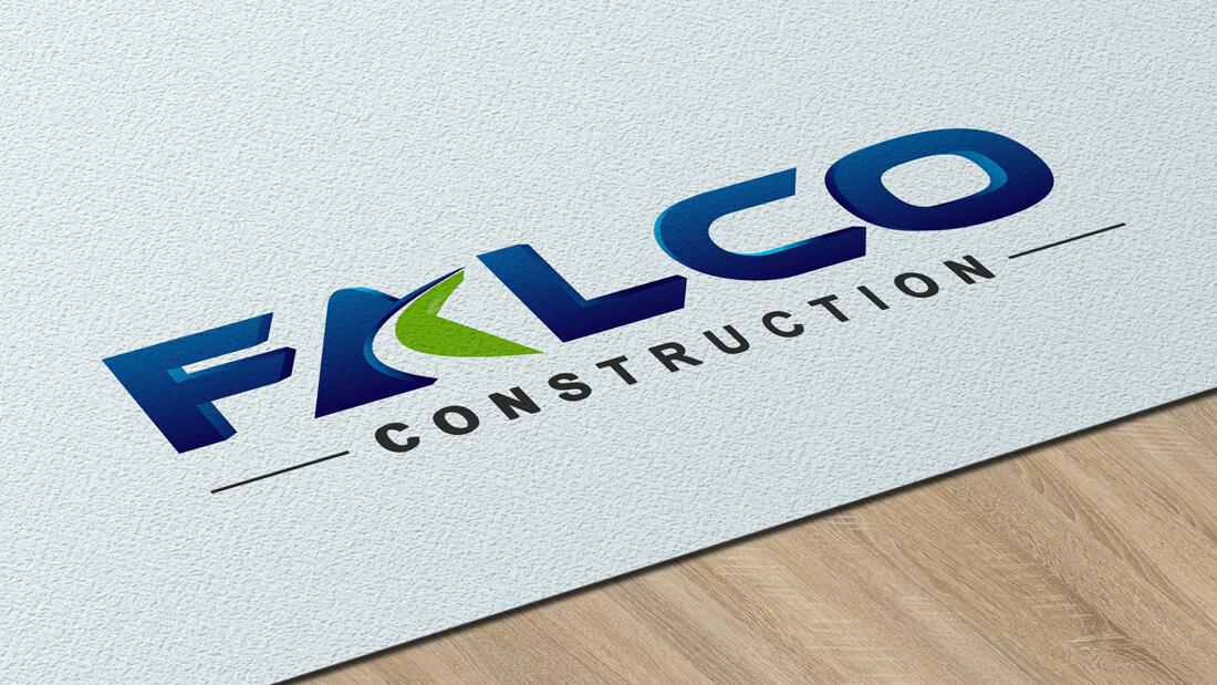 Falco Construction - branding
