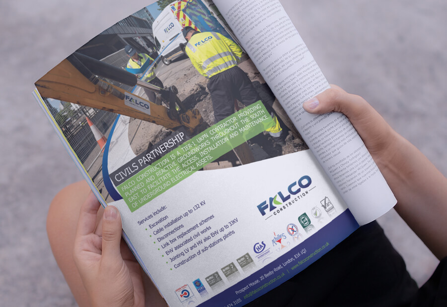 Falco advert